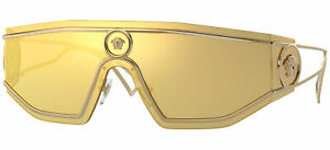 Lunettes de Soleil Versace SHIELD MEDUSA VE 2226 Gold/Gold 45/14/115 homme