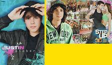 DOPPEL-POSTER ~ Justin Bieber - STEP UP 3D - 42 x 28 cm