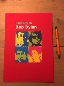 I-MONDI-DI-BOB-DYLAN-Catologo-mostra-Catalogue-rare-and-hard-to-find