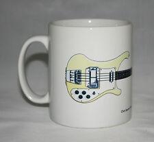 Guitar Mug. Chris Squire's Rickenbacker RM1999 Bass Illustration.