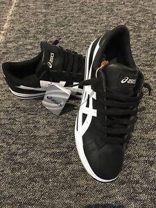 varios tamaños Asics blancas deporte clásico negras de Zapatillas Tempo q0zw88