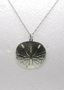 James avery retired sterling silver sand dollar pendant and 18 image is loading james avery retired sterling silver sand dollar pendant aloadofball Images