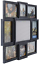 miniature 5 - 19x17inch Photos Multi Picture Frame Collage Aperture Decor Memories Home Wall