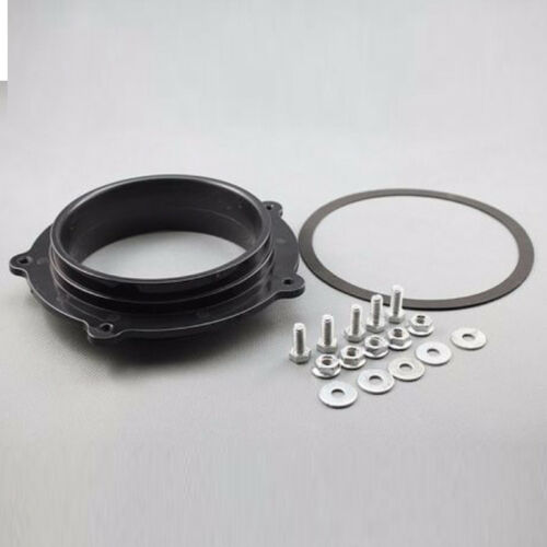 New MotorcycleBlack Air Filter Intake Adapter For Yamaha YFZ450 All Years