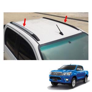 Roof-Bar-Trim-4-Doors-Double-Cab-For-Toyota-Hilux-Revo-SR5-M70-2015-2017