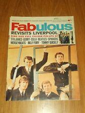 FABULOUS MUSIC MAGAZINE 19TH JUNE 1965 CILLA BEATLES BILLY FURY MERSEY BEATS