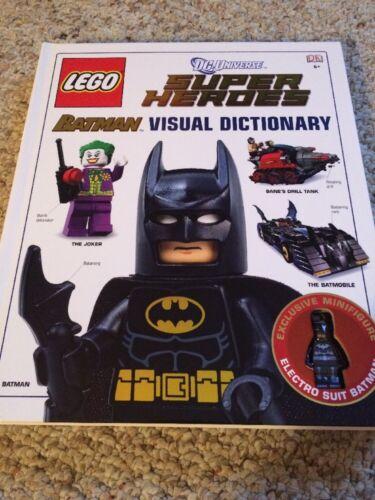 Exclusive Electro Suit Figure DC Super Heroes LEGO Batman Visual Dictionary