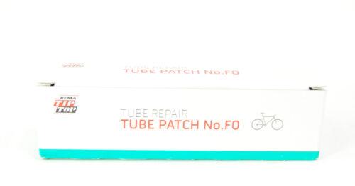 100 REMA TIP TOP F0 16 mm ronde de vulcanisation Vélo Tube PATCH DE RÉPARATION PATCHES F0-P