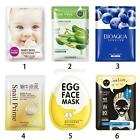 Korean Essence Facial Mask Sheet, Moisture Face Mask Pack Skin Care Multi-style