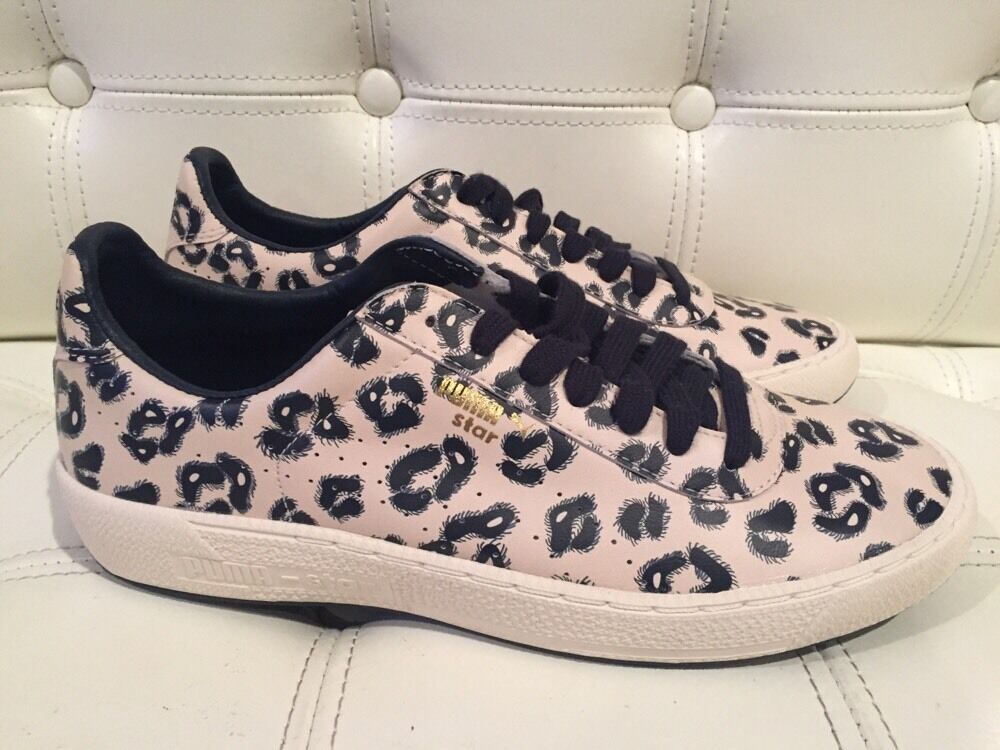 Anthropologie Puma Hoh Hackney Star zapatillas casa de Hackney Hoh Whisper Blanco 7,5 vendido Wild Casual Shoes cf4613