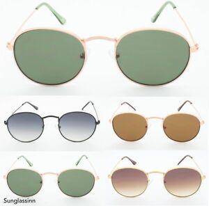 87fdb3517dac Classic Lennon Metal Frame Wire Round Oval 60's Hippie Sunglasses   eBay