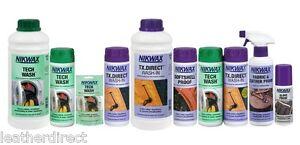Nikwax Tech Wash & TX Direct Twin Pack Cleaning Waterproof Outdoor Protection by Nikwax NU3JjACh