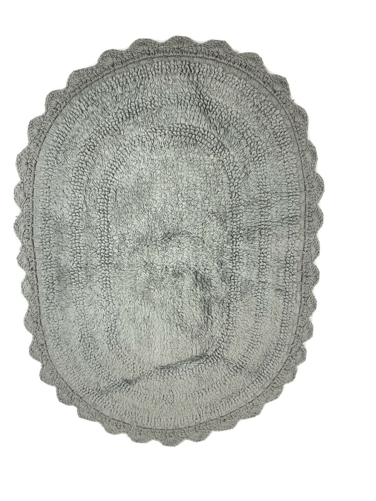 Dii Ultra Soft Spa Cotton Crochet Round Bath Mat Or Rug Place In Front Of Bath For Sale Online Ebay