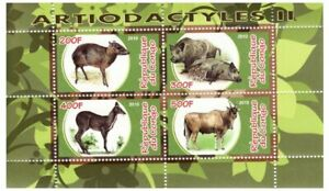 ANIMAUX-SAUVAGES-feuille-de-4-SV0720
