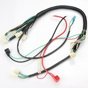 image is loading wiring-harness-for-50cc-90cc-110cc-25cc-chinese-