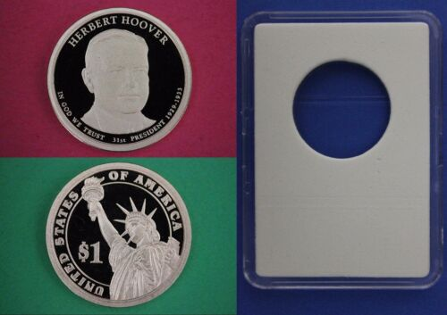 2014 S Proof Herbert Hoover Presidential Dollar With DIY Slab Flat Rate Shipping