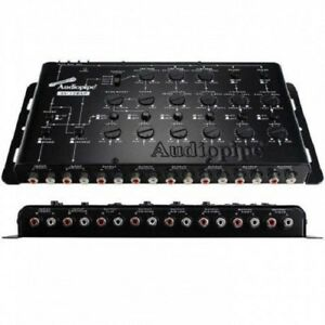 Audiopipe-XV12BXP-Pro-Audio-6-Way-Crossover-4-Volt-Input-9-Volt-Output-NEW