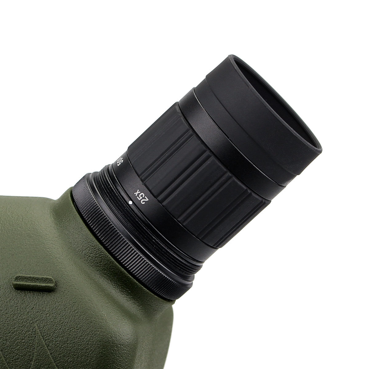 New FMC 25-75x70mm WaterResistant 45Degree Angled Zoom Spotting Scope Scope Scope w/ Tripod 316b40