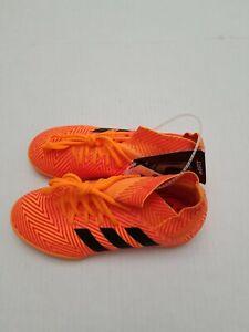 Adidas Nemeziz Tango 18.3 IN J Kids Shoes Boys Youth Soccer Sneaker Futsal Sz 4