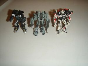 Transformers Titanium 3 Inch Size Movie 2007 LOT of 3