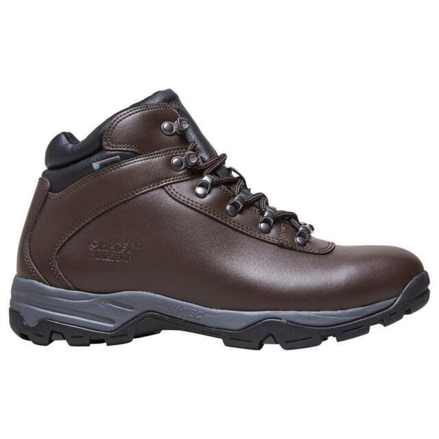 f12c7fe63eb Hi-Tec Eurotrek 3 III Waterproof Ladies Womans Leather Walking Hiking BOOTS  Brown UK 7