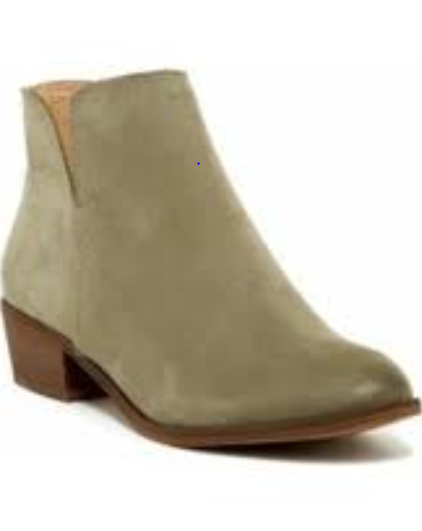 178 size 8.5 Splendid Hamptyn Moss Leather Ankle Bootie Riding Womens shoes