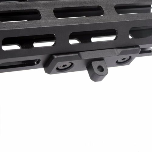 US/_ M-Lok Bipod Mount Adapter For Harris Sling Stud a* Aluminum