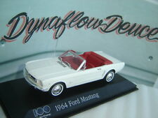 Minichamps 1 43 1964 Ford Mustang 100 Year Anniversary Heart & Soul FREE SHIP