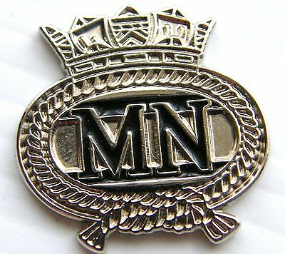 NAVY THE MERCHANT NAVY MILITARY NAVAL LAPEL BADGE FREE GIFT PLUSH MOD APPROVED