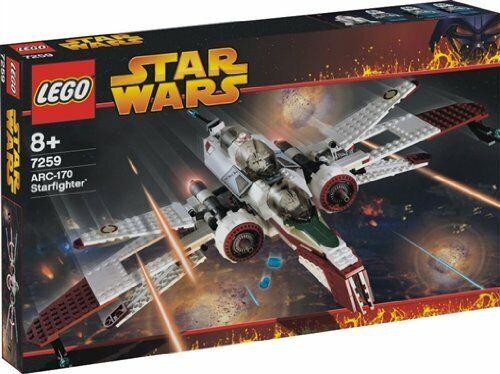 Lego (Lego) Estrella Wars Arc-170 Estrellafighter 7259F S