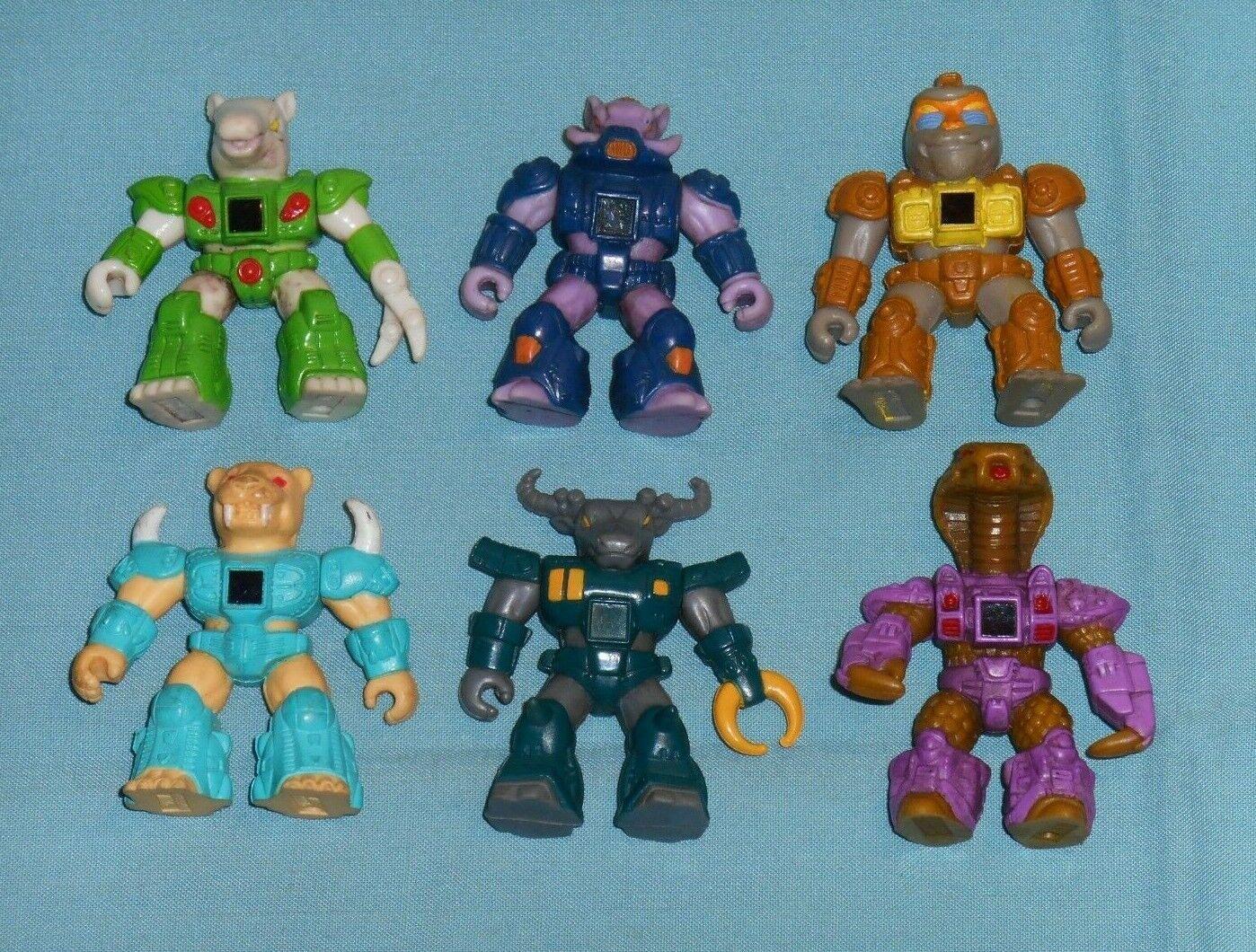 Vintage Battle Beasts Lot de 6  figurines  limite acheter