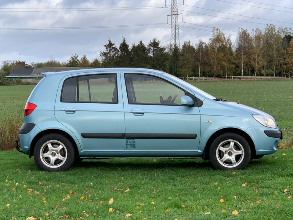 Hyundai Getz 1,5 CRDi 88 GL Van Diesel modelår 2008