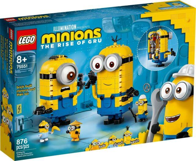 LEGO Minions - Brick-built Minions and their Lair #75551 BNIB