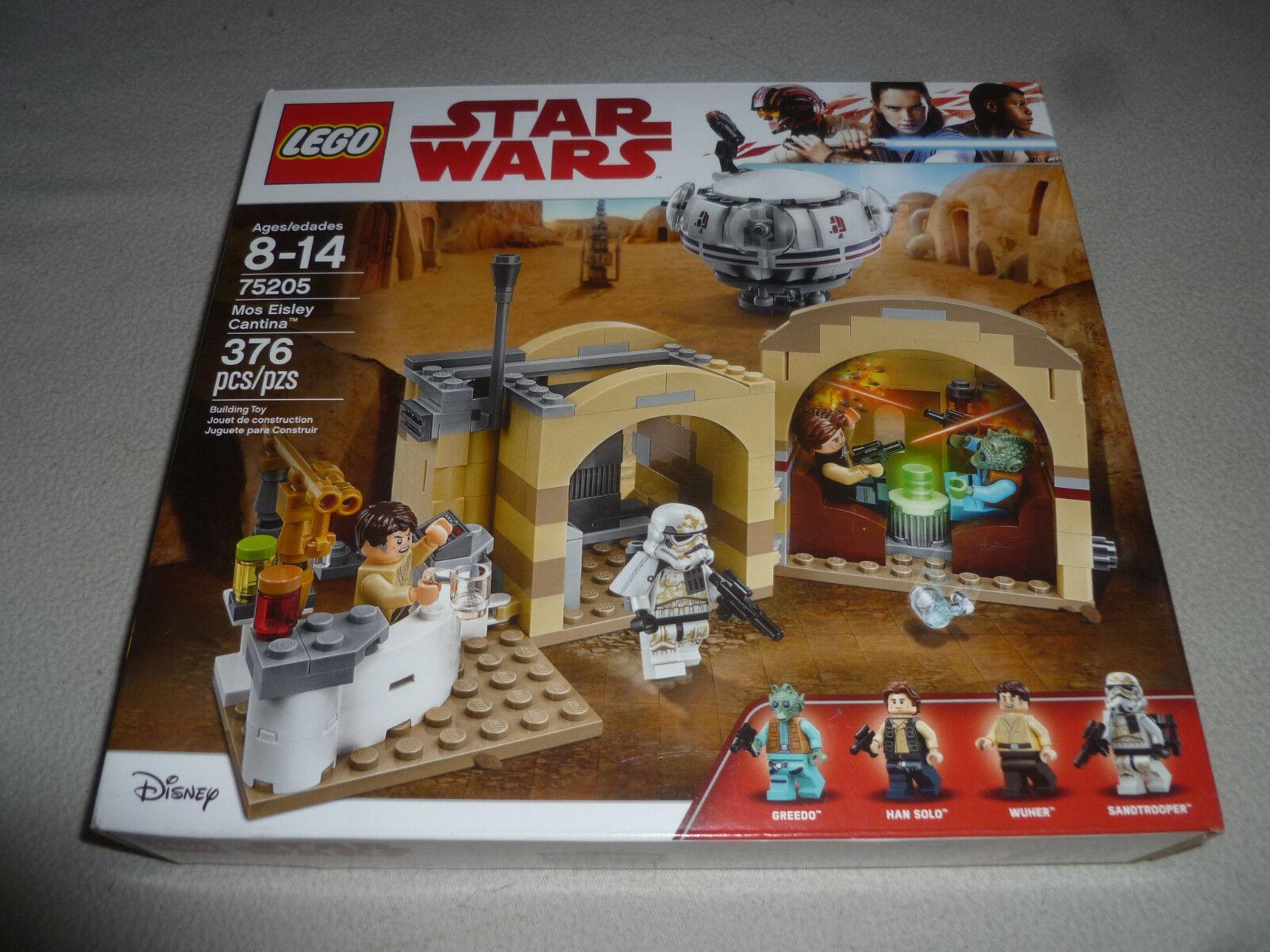 NEW IN BOX LEGO STAR STAR STAR WARS MOS EISLEY CANTINA 75205 GREEDO HAN SOLO SANDTROOPER   f2d1f0