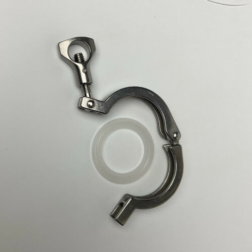 """Tri Clamp Clover Sanitary 1.5/"""" for 50.5MM OD Ferrule Clamp Stainless Steel"""
