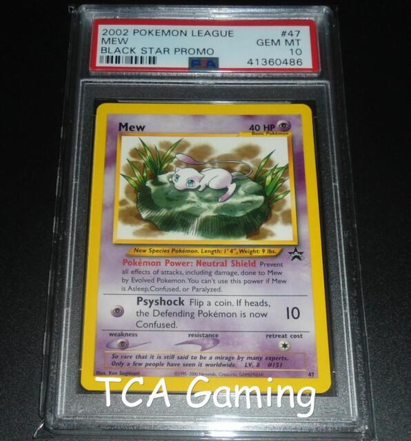 Mew # 8 Black Star Promo WOTC Rare NEAR MINT Pokemon Card