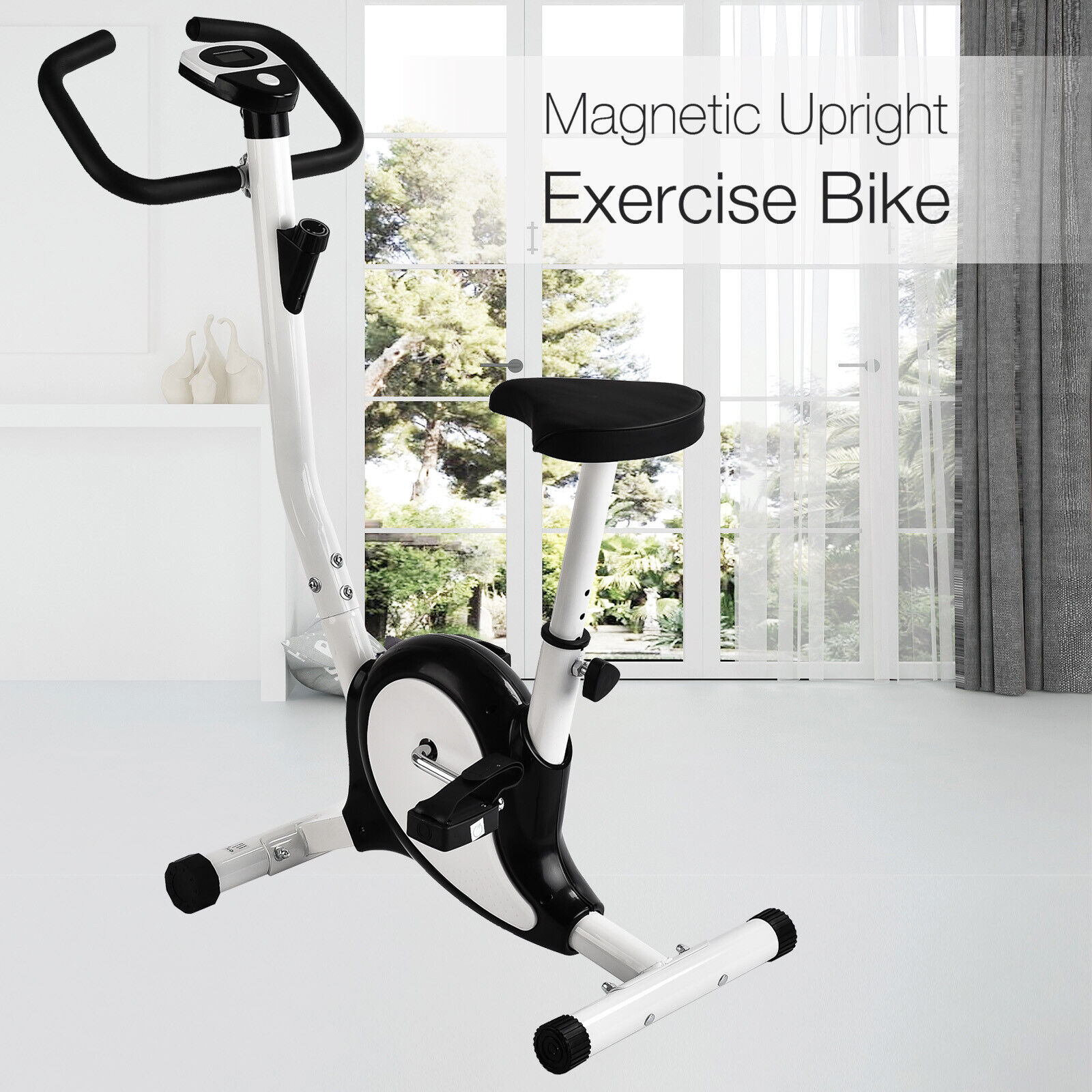 New Fitness Cycling Bicycle Exercise Bike Stationary Gym Training Cardio 2