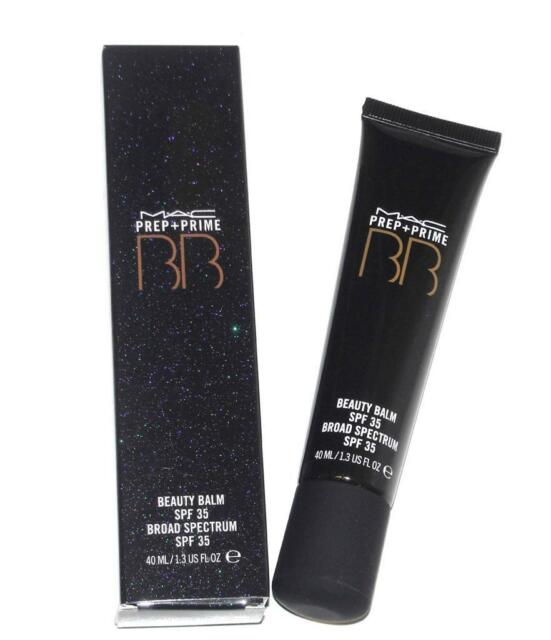 MAC~NIB~PREP + PRIME~BB BEAUTY BALM~SPF 35 (DARK PLUS) FULL SIZE 1.3 OZ~SEALED