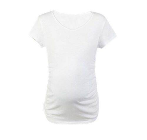 SALE! Plain maternity top with comfortable side stretch for the whole pregnancy