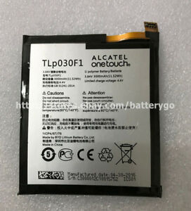 Details about Original 3000mAh Battery TLp030F1 Alcatel One Touch Idol 4S  OT-6070 6070K 6070Y