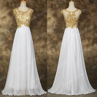 Long Applique Wedding Evening Masquerade Party Ball Gown Prom Bridesmaid Dresses