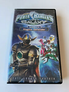 Power Rangers: Lost Galaxy - The Return of the Magna ...Power Rangers Lost Galaxy Magna Defender Vhs