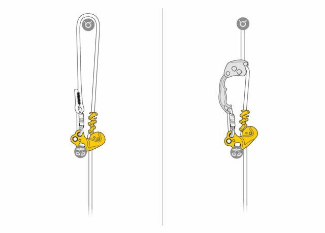 Petzl Zigzag Mechanical Prusik for Arborists D022AA00 for sale online