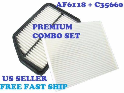 AF6166 C35660 ENGINE /& CABIN AIR FILTER COMBO SET For HYUNDAI ELANTRA KIA FORTE