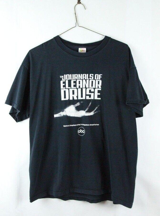 The Journals Of Eleanor Druse Stephen King's Kingdom Hospital ABC T-Shirt XL