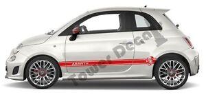 Abarth-Scorpion-Door-Runner-Rocker-Panel-stripes-Pair-fits-Fiat-500-Abarth