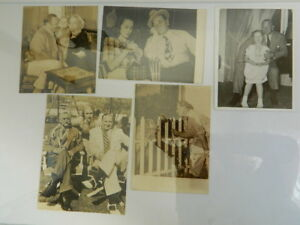 Foto-Original-Wallace-Beery-de-Familia-Retratos-Celebridad-Actor-Comediante