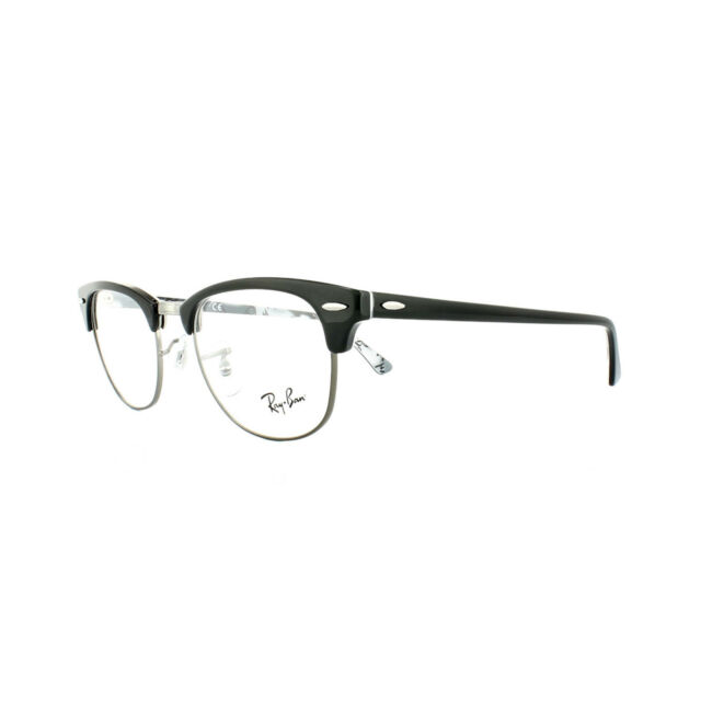 Ray-Ban Glasses Frames 5154 Clubmaster 5649 Black Texture Camouflage ...