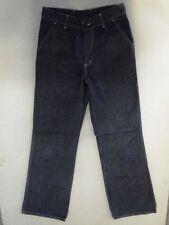 Smog  Jeans Hose Schlaghose Dunkelblau Stonewashed W29 L34