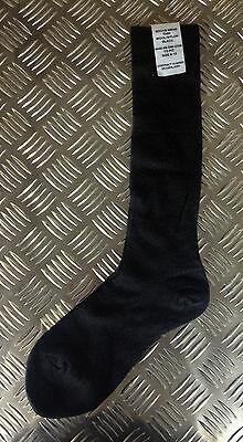 WHITE Long Thin Socks Stockings Lot Nylon NEW Genuine British Army Wool